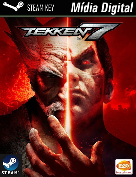Pc Tekken 7- Steam Key Game Mídia Digital Jogo P/computador