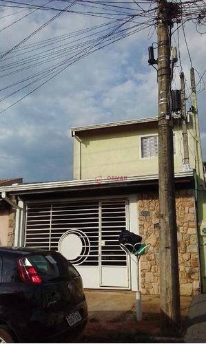 Imagem 1 de 25 de Sobrado Com 3 Dormitórios À Venda, 160 M² Por R$ 460.000,00 - Jardim Macarenko - Sumaré/sp - So0122