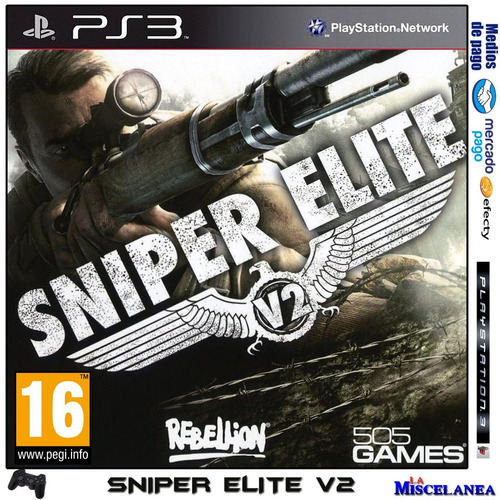Sniper Elite V2 Ps3 Digital