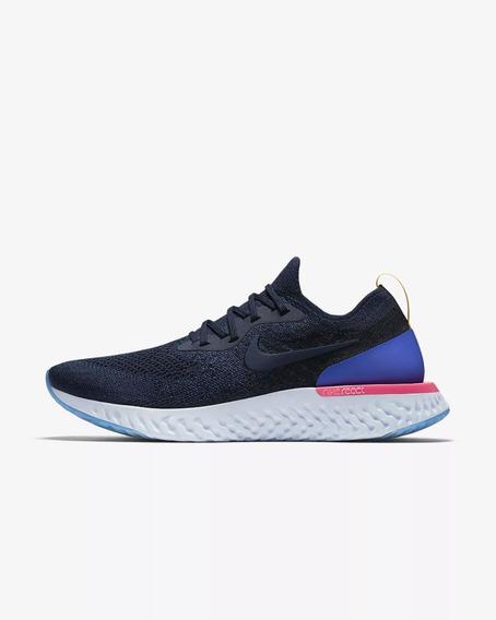 Tenis Nike Epic React Blue Dama