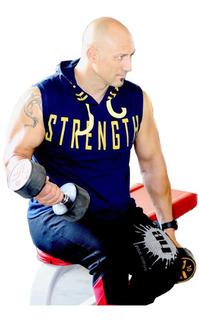 Musculosa Gym Con Capucha Strength Art 7211