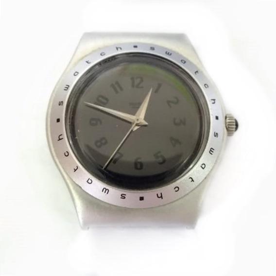 Relógio Aço Swatch Usado Funcionando