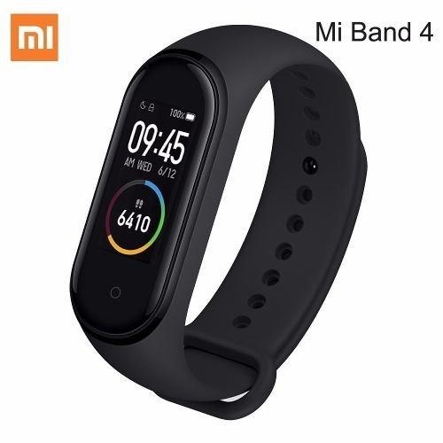 Mi Band 4 Xiaomi Pulseira Smartband Bluetooth +película Brin