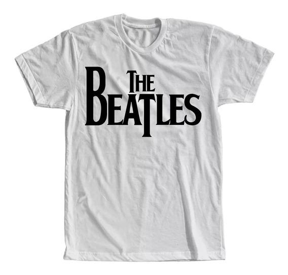 Camiseta The Beatles Masculina E Feminina