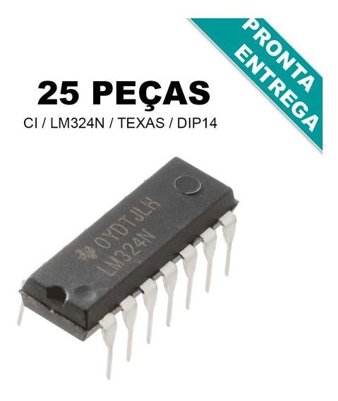 Ci Lm324n / Lm324 / Lm 324 / Lm 324n - Original (25 Peças)