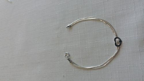 Imagem 1 de 1 de Pulseira Jóia Em Prata 925, Garantia Eterna No Material