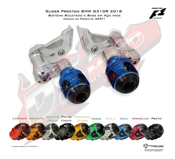 Slider F1 Procton Racing - Bmw G310r G 310 R G310