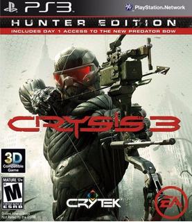 Crysis 3 Hunter Edition Ps3 Original Fisico Sellado