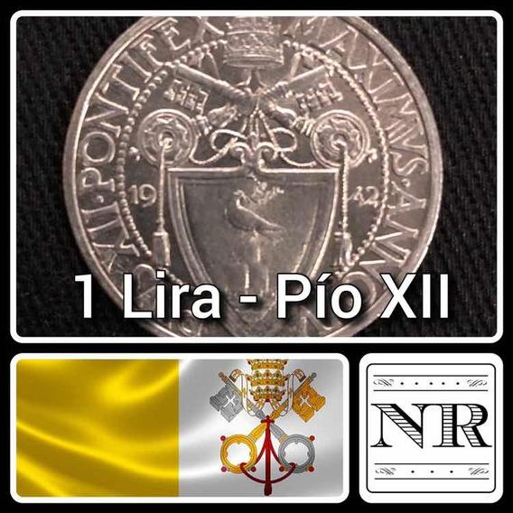 Vaticano - 1 Lira - Año 1942 - Papa Pio Xii - Km # 35
