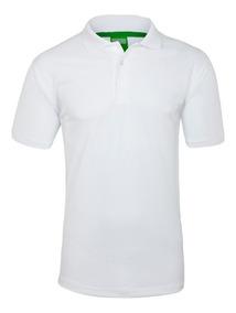 Playera Polo Sport 100% Polyester Para Hombre Tallas Xxl