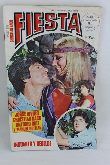 L755 Fotonovela Fiesta Numero 275 Abril 23 1980