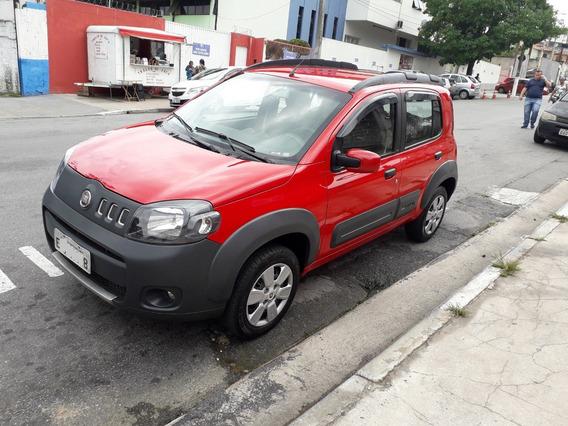 Fiat Uno Way 1.0 Flex Completo 11/12 Troco E Financio