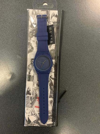 Reloj Guess Azul Nuevo Y Original