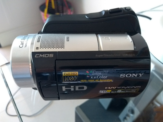 Filmadora Sony Hdr-sr10 4mp 40gb