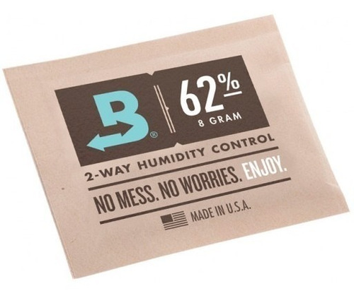 Imagen 1 de 3 de Boveda 62% 8gr Regulador Control Humedad Curado