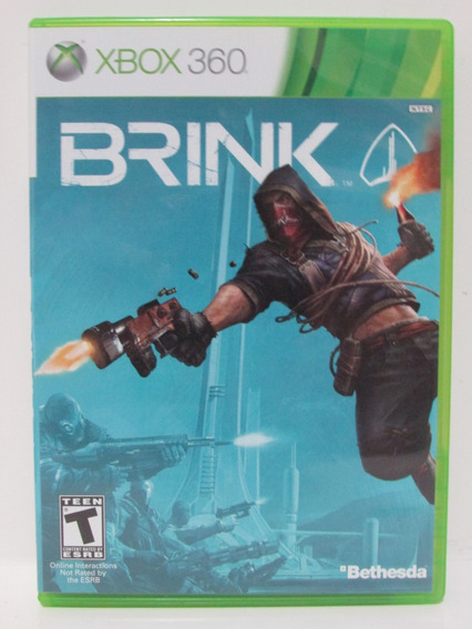 Brink - Game Xbox 360 Original E Completo Com Manual