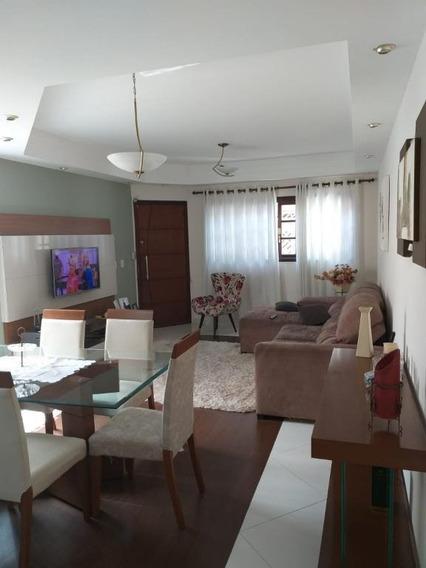 Sobrado Com 3 Dormitórios / 1 Suíte À Venda, 128 M² - Parque Santana - Mogi Das Cruzes/sp - So0244
