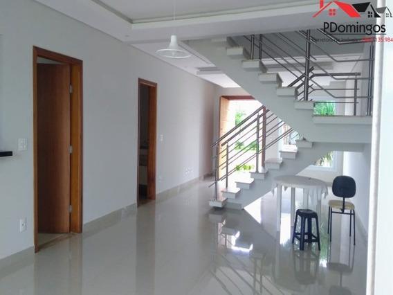 Glamouroso Sobrado De 3 Suítes No Condomínio Reserva Real Resort Em Paulínia - Sp - Ca00826 - 34887906