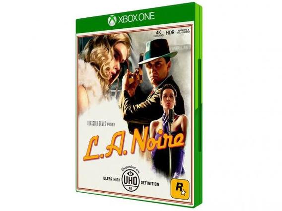 Jogo Mídia Física L A Noire Original Para Xbox One