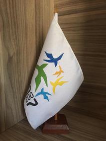 Bandeira De Mesa Jogos Pan Americano Rio 2007
