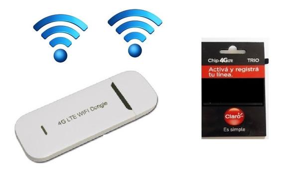 Modem 4g Wifi Libre Vehicular Auto Portatil Casa Mov Pers Cl