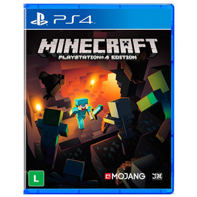 Jogo Minecraft Ps4 - Playstation 4 - Midia Fisica Lacrado