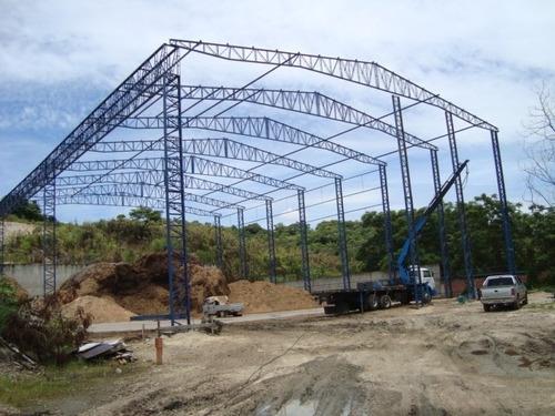 Imagem 1 de 8 de Estrutura Metálica, Sua Melhor Opção