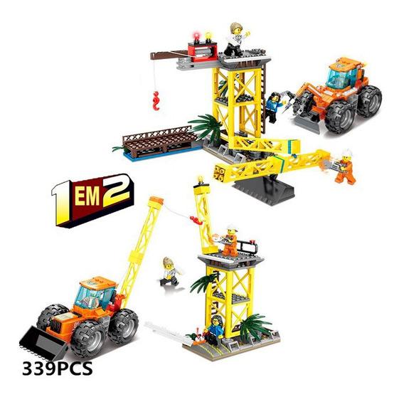 Brinquedo Bloco Montar 2x1 City Equipe De Demolição 399pcs