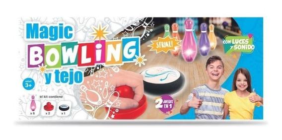Juego De Set Bowling Y Tejo Luminoso 2 En 1 En Creciendo