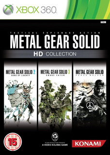Metal Gear Solid Hd Collection - Xbox 360 (original) Pal