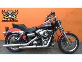 Harley-davidson Dyna Super Glide Custom 2013 - Vermelha