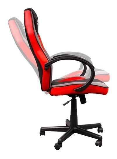 Cadeira Gamer Giratoria - Vermelho (hp-cg502)