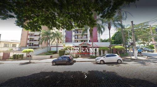 Apartamento Com 3 Dormitórios À Venda, 90 M² Por R$ 450.000,00 - Ponte Preta - Campinas/sp - Ap0413