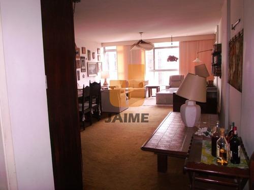 Apartamento De 3 Dormitórios Com 2 Vagas Em Higienópolis - Ja249