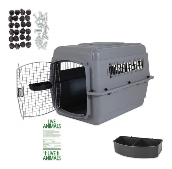 Kennel 300 Petmate Iata Deluxe,74x48x60, Perros 13 A 23 Kg