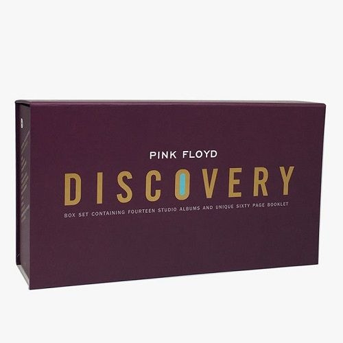 Cd Box Pink Floyd Discovery 16 Cds