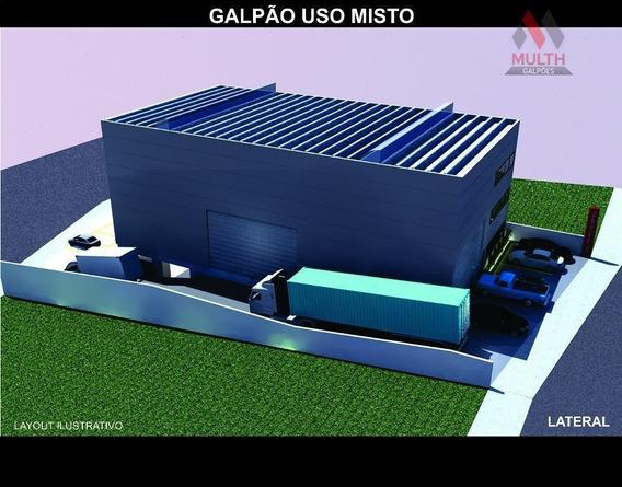 Galpão Industrial Para Venda E Locação, Paisagem Renoir, Cotia. - Ga0107