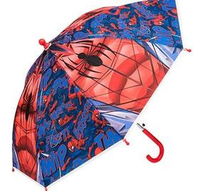 Paraguas Infantil Ruz Niños Spiderman Sint Azul 55188 Dtt