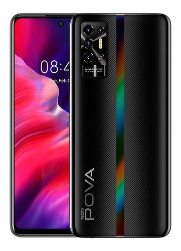 Imagen 1 de 6 de Celular Tecno Pova2 128gb - 6gb Ram 7000 Mah+forro+audífonos