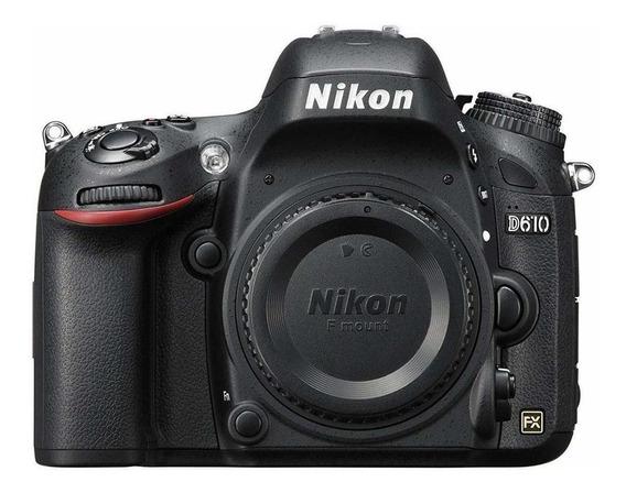 Nikon D610 DSLR preta