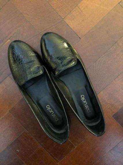 Zapatos Talle 39, Cuero, Mujer. Paruolo. Poco Uso.