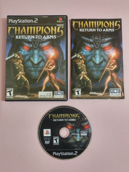 Play 2: Champions Return To Arms Rpg Completo Americano!