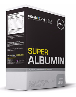 Super Albumin 500g Baunilha - Probiótica