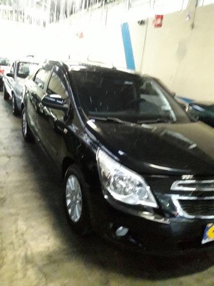 Chevrolet - Cobalt Ltz 1.4 2012 - Preto
