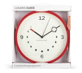 Lunaris Clock: Reloj De Pared (cl61)
