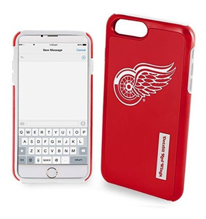 Nhl Detroit Red Wings Impacto 2 Piezas De Doble Hibrido Ipho