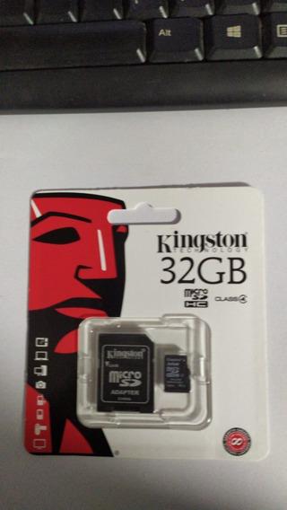 Cartão De Memória Kingston 32 Gb Micro Sdhc, Classe 4