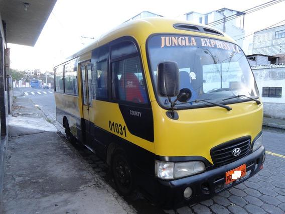 Micro Bus Hyundai County 2006 Buseta Escolar