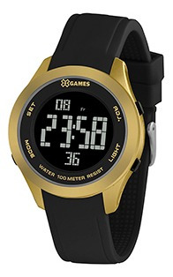 Relógio Feminino Xgames Puls Silicone 100m Ref.xmppd602-pxpx