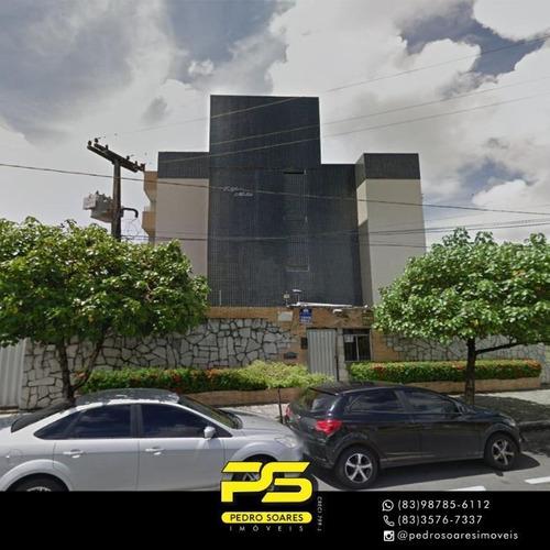 Apartamento Com 3 Dormitórios À Venda, 68 M² Por R$ 190.000 - Jaguaribe - João Pessoa/pb - Ap4264
